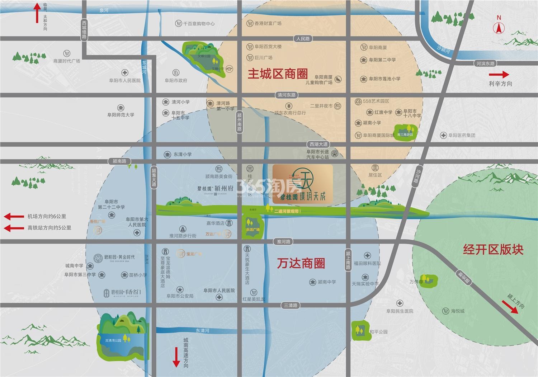 碧桂园·璞玥天成交通图