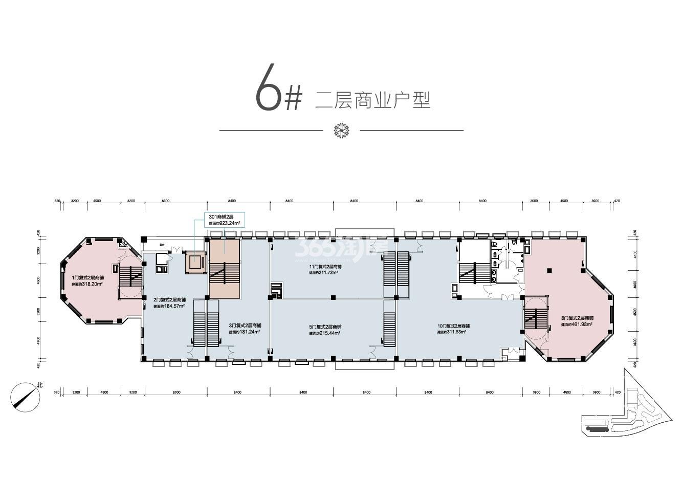 兴创奥悦丁香小镇项目户型图