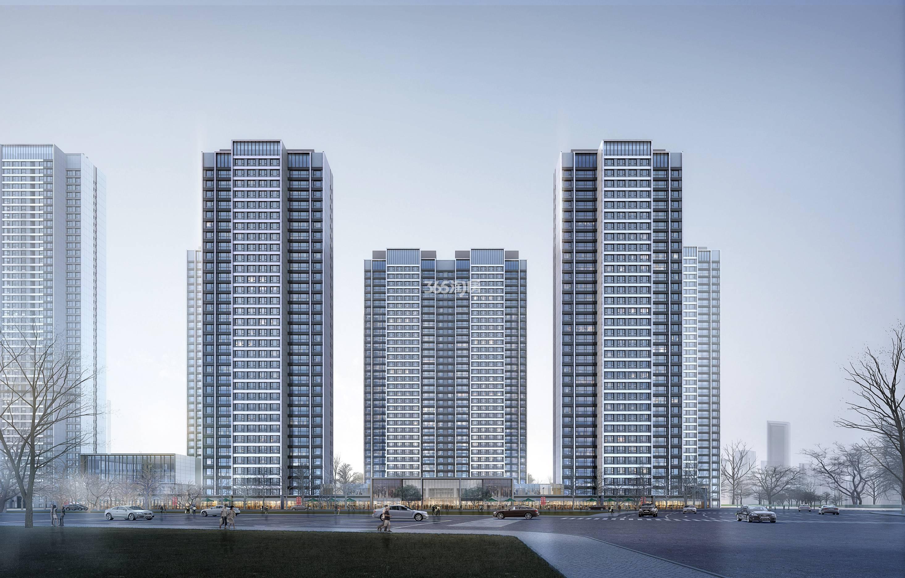 金融街·滨海融御效果图