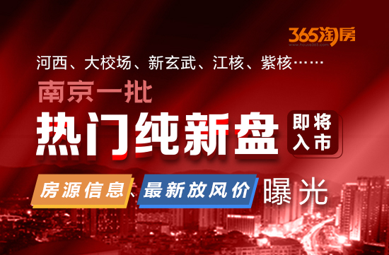 河西、大校场、新玄武、江核……南京一批纯新盘即将入市 最新放风价曝光