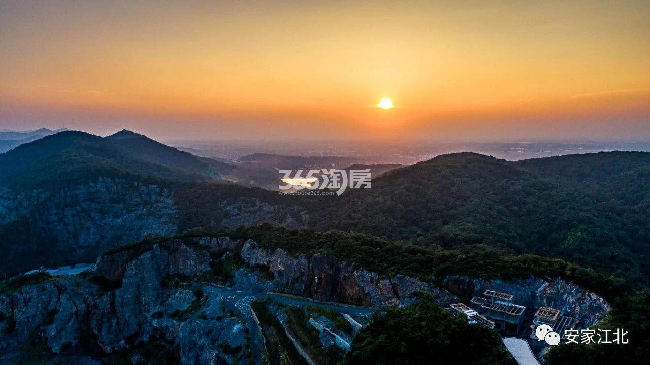 明发阅山居周边航拍实景图-老山风华(9.28)