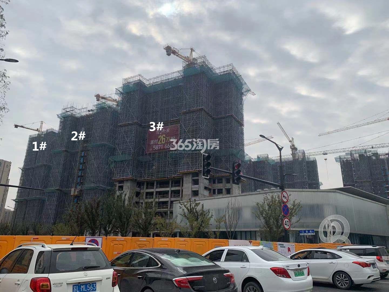 悦江府1、2、3号楼实景图(11.27)