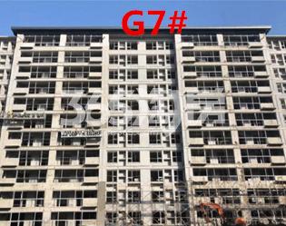 北雁湖玥园G7楼栋外立面实景图(2020.12.9)