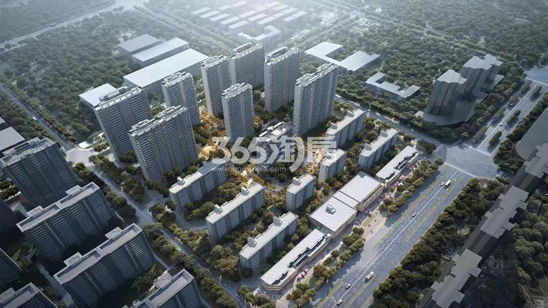 华宇新城·天境鸟瞰图
