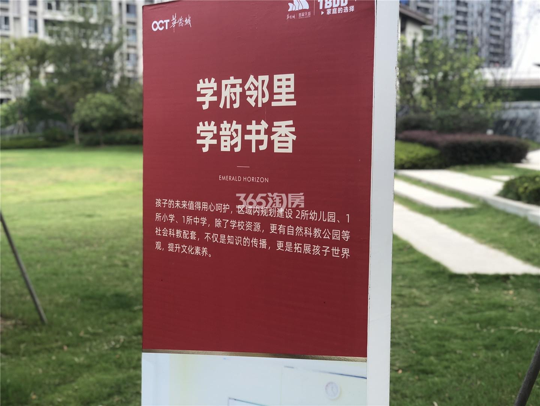 华侨城翡翠天域实景图