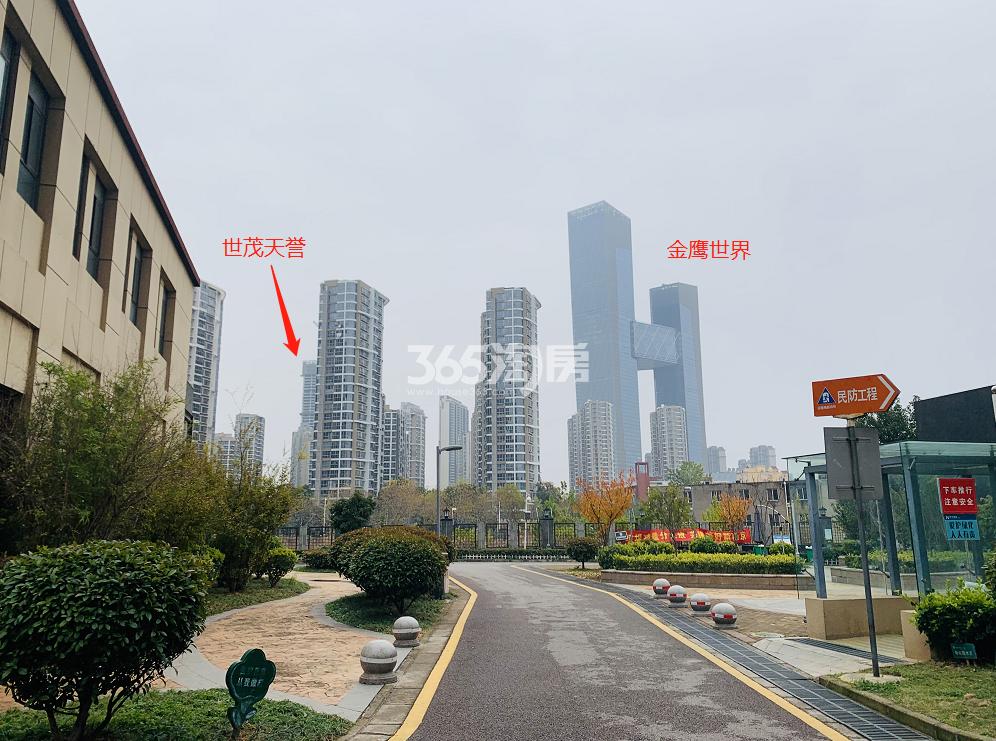 世茂天誉周边配套实景图(12.28)