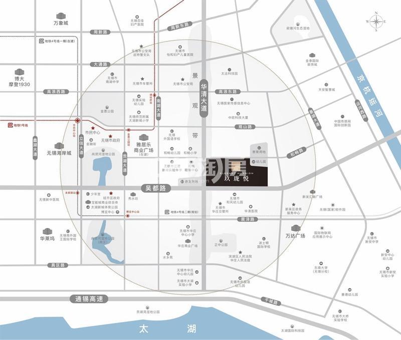阳光城金科玖珑悦交通图