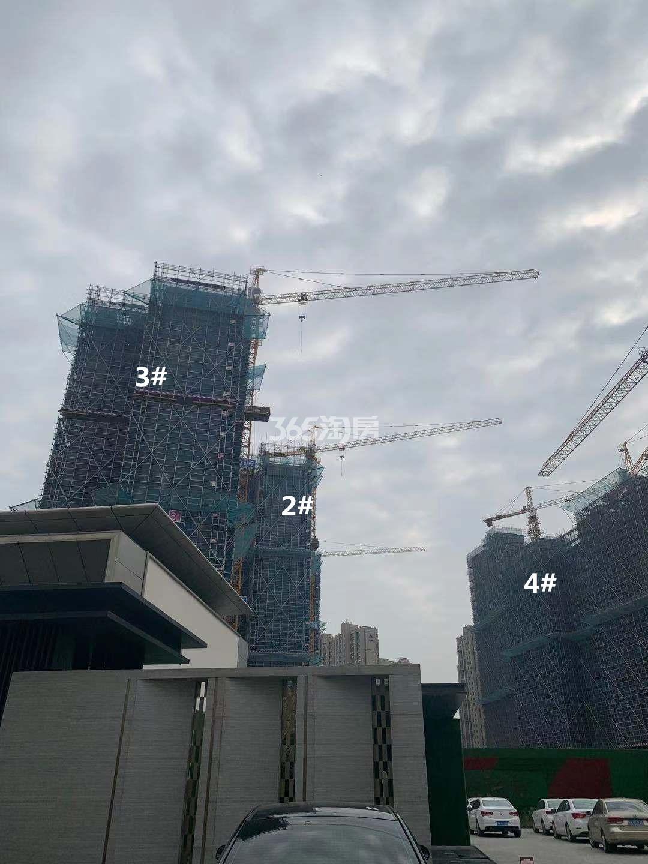 悦江府2、3、4号楼实景图(11.27)