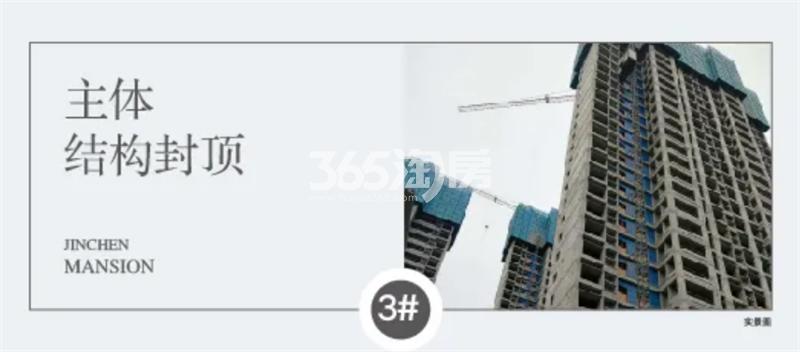 四季连城锦宸3#工程进展(11月4日)