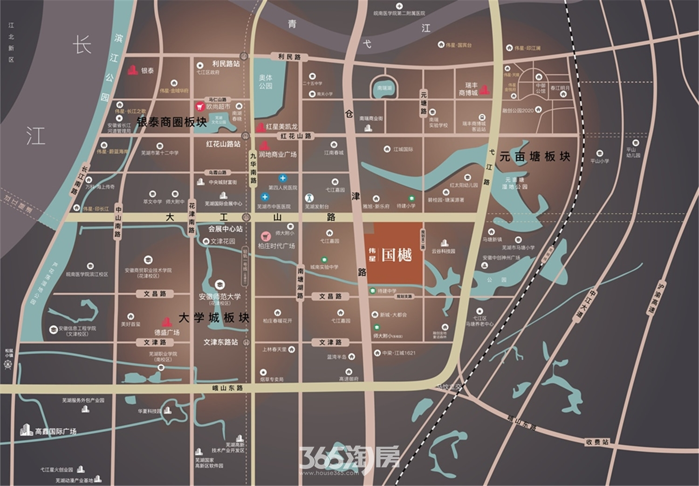 伟星国樾交通图