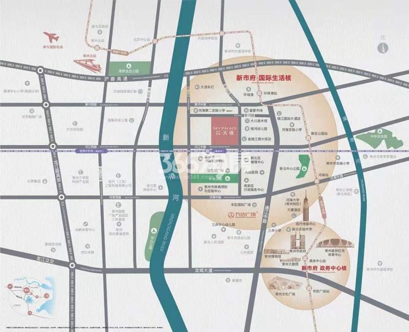 华宇新城·天境交通图