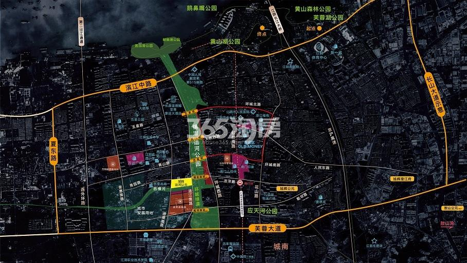 旭辉运河公元交通图