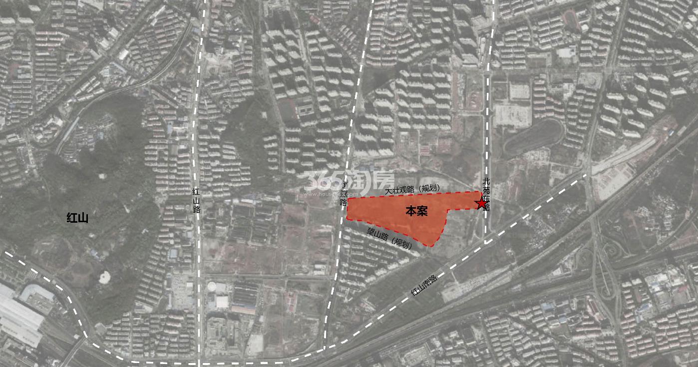 玄武宝龙城交通图