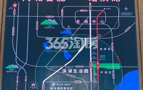 新滨湖孔雀城实景图