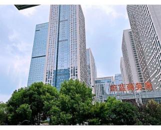 政务区核心办公楼盘蔚蓝商务港73平仅售63万 看房方便
