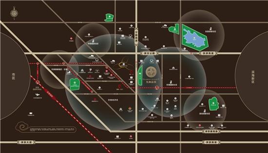 天保·九如品筑交通图