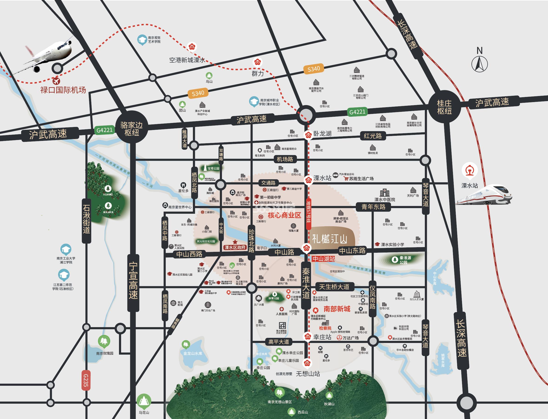 礼樾云居交通图