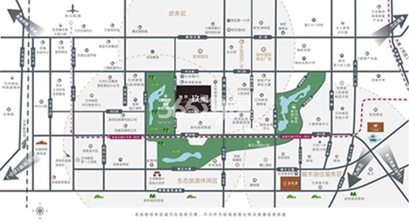 兰州瑞辰·玖阙交通图