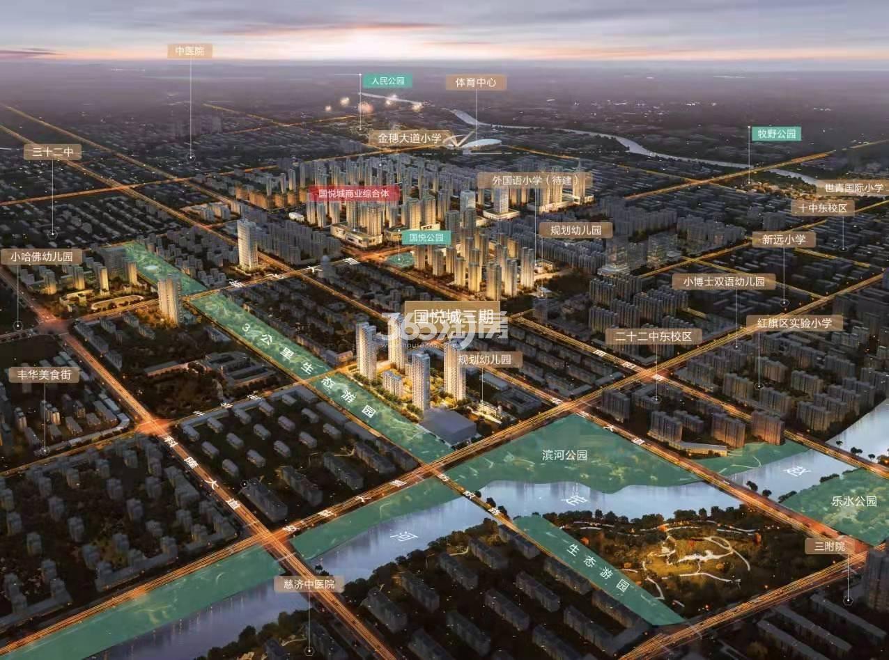 国悦城交通图