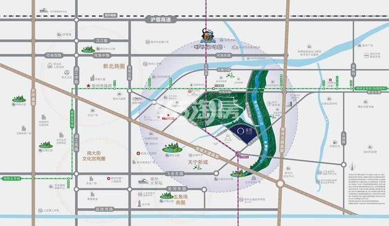阳光城禹洲·宸悦交通图