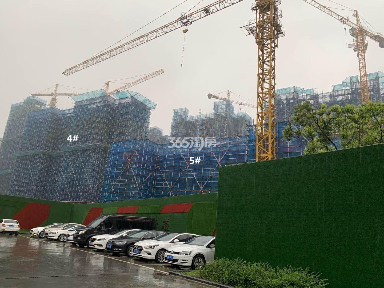 悦江府4、5号楼实景图(9.29)